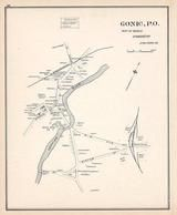 Gonic - Town, New Hampshire State Atlas 1892 Uncolored
